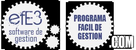 Programa fácil de gestión efE3
